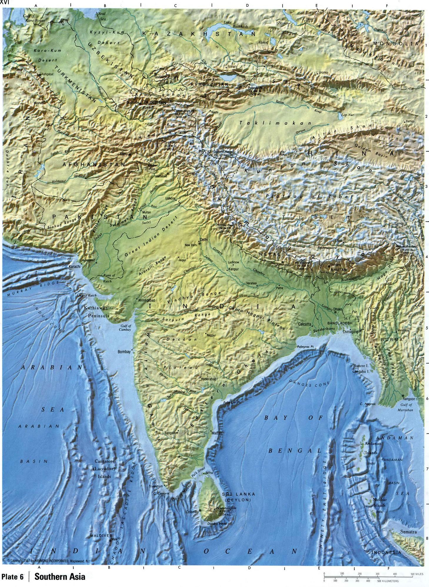 Южная Азия: http://map-rus.com/southern-asia.html